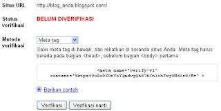 Cara Menambahkan Blogger Sitemap Ke Google Webmaster