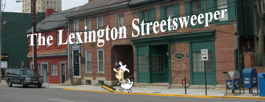 The Lexington Streetsweeper