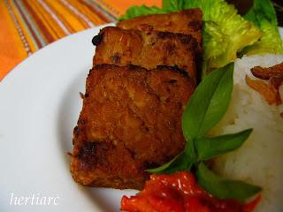tempe bacem masakan indonesia