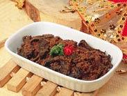 rendang paru masakan indonesia