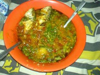 Manada Fish Porridge Recipe - Resep Tinuransa