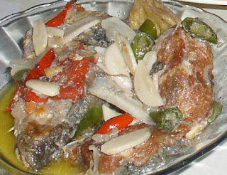 Fish in a Hot Coconut Sauce Recipe ( Resep Ikan Santan / Santen )