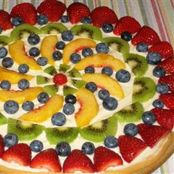 Fruit Pizza Recipe  ( Resep Pizza Buah )