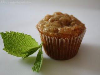 Banana Crumb Muffins  Recipe ( Resep Banana Crumb Muffins )