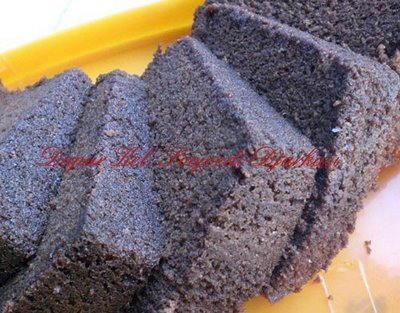 Steamed Chocolate Cake Recipe ( Resep Cake Coklat Kukus )