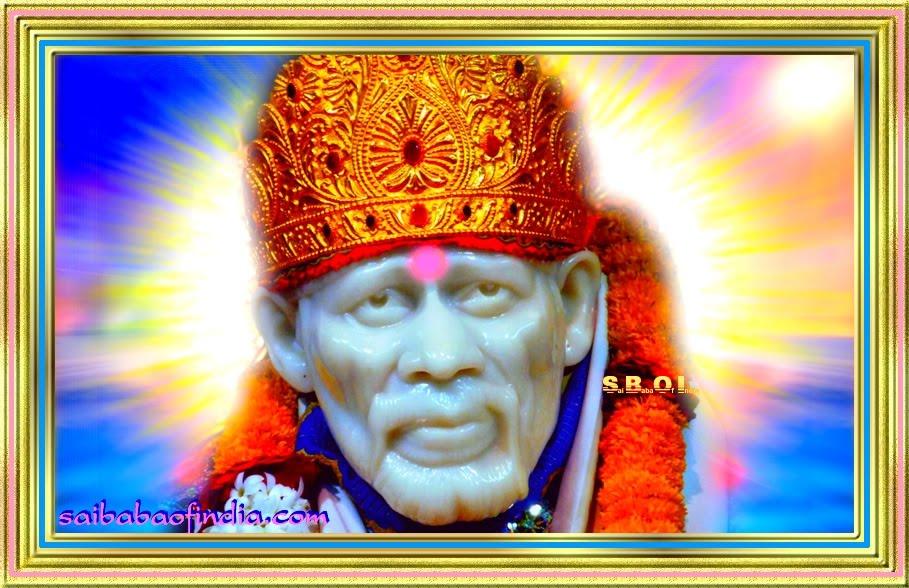 Cool Green Hd Shirdi Sai Baba Iphone Wallpapers Hindu God Guru Ipad