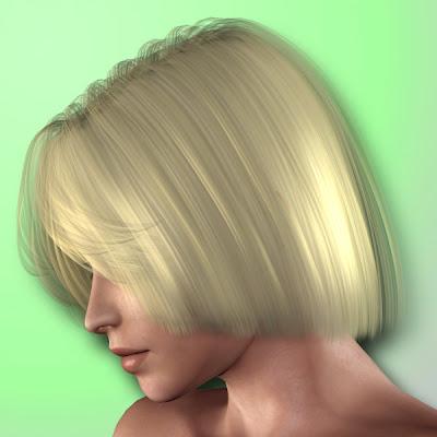 Poser freebies hair