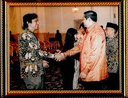Ikang Fawzi Suamiku Saat Diterima Presiden SBY di Istana Negara Jakarta