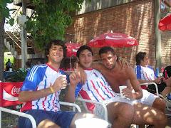 Enzo, Turco y Nachito