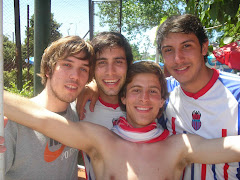 Garral, Agus, Mono y Turquito