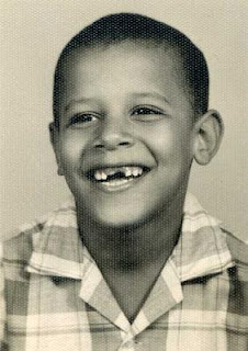 Barack Obama childhood...!