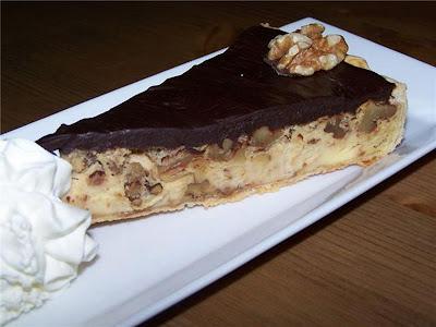 libro de cocina Tarta+choco-queso+con+nueces
