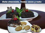 TODAS LAS RECETAS DEL RETO DE CHOCOLATE, FRUTOS SECOS Y NATA.