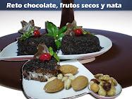 TODAS LAS RECETAS DEL RETO DE CHOCOLATE, FRUTOS SECOS Y NATA.