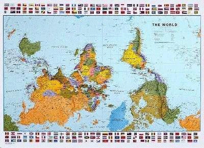 The upsidedown map