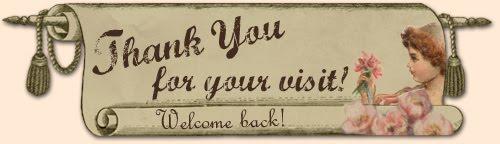 podziękowanie za odwiedziny
