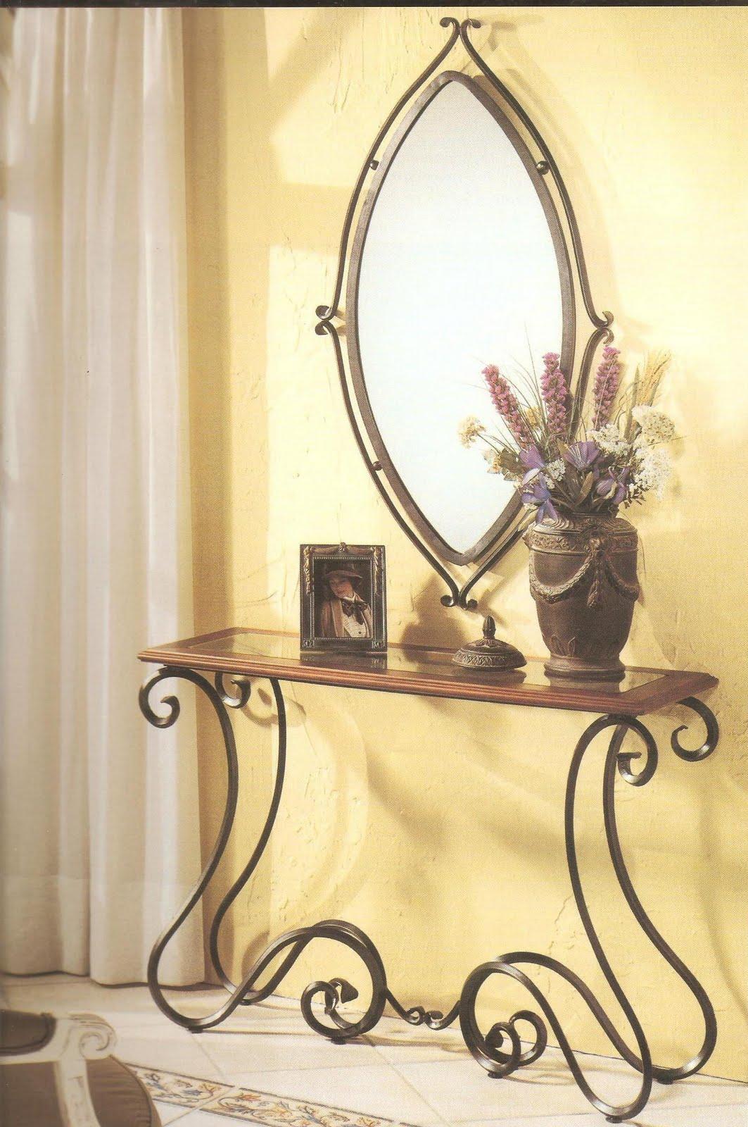 Hierro forja arte muebles y mucho mas for Muebles de fierro forjado