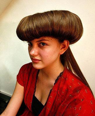 crazy hairstyles - trendy