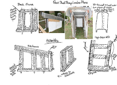 Free Screen House, Outdoor Living Room and Deck Shelter Plans and