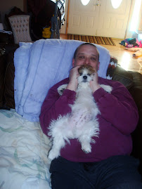 Mike and the new pooch