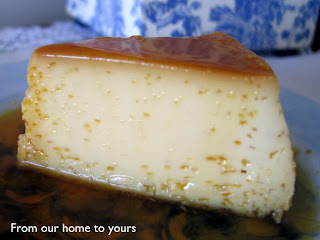 ... Our (Brazilian) Home to Yours: Brazilian Flan - Condensed Milk Flan