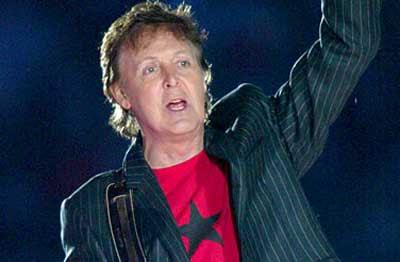 Paul McCartney politizado