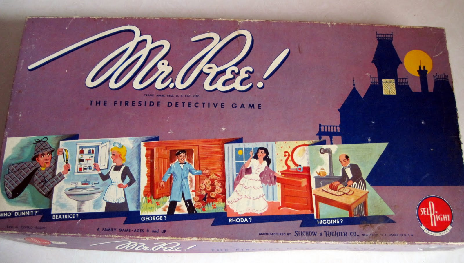 Tracy's Toys (and Some Other Stuff): Mr. Ree! Board Game