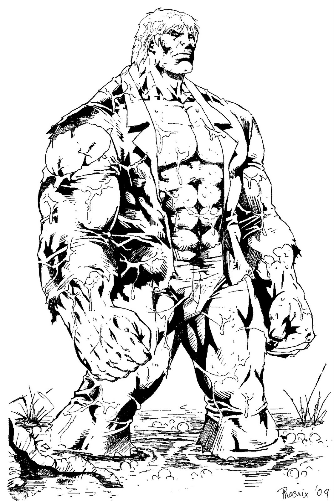solomon grundy coloring pages - photo#32