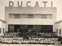 Fábrica de Ducati en Blolonia