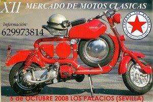 Cartel motos clásicas en Los Palacios
