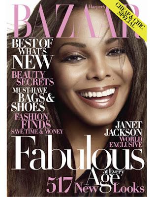 Janet Jackson Harper's Bazaar Cover October 2009 pic