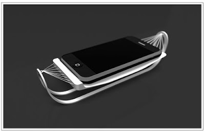 The coolest iPhone dock - iHammock