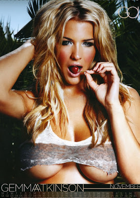 Gemma Atkinson 2010 Calendar pic