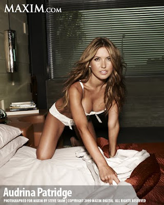Audrina Patridge on Maxim Magazine October 2009 sexy photo