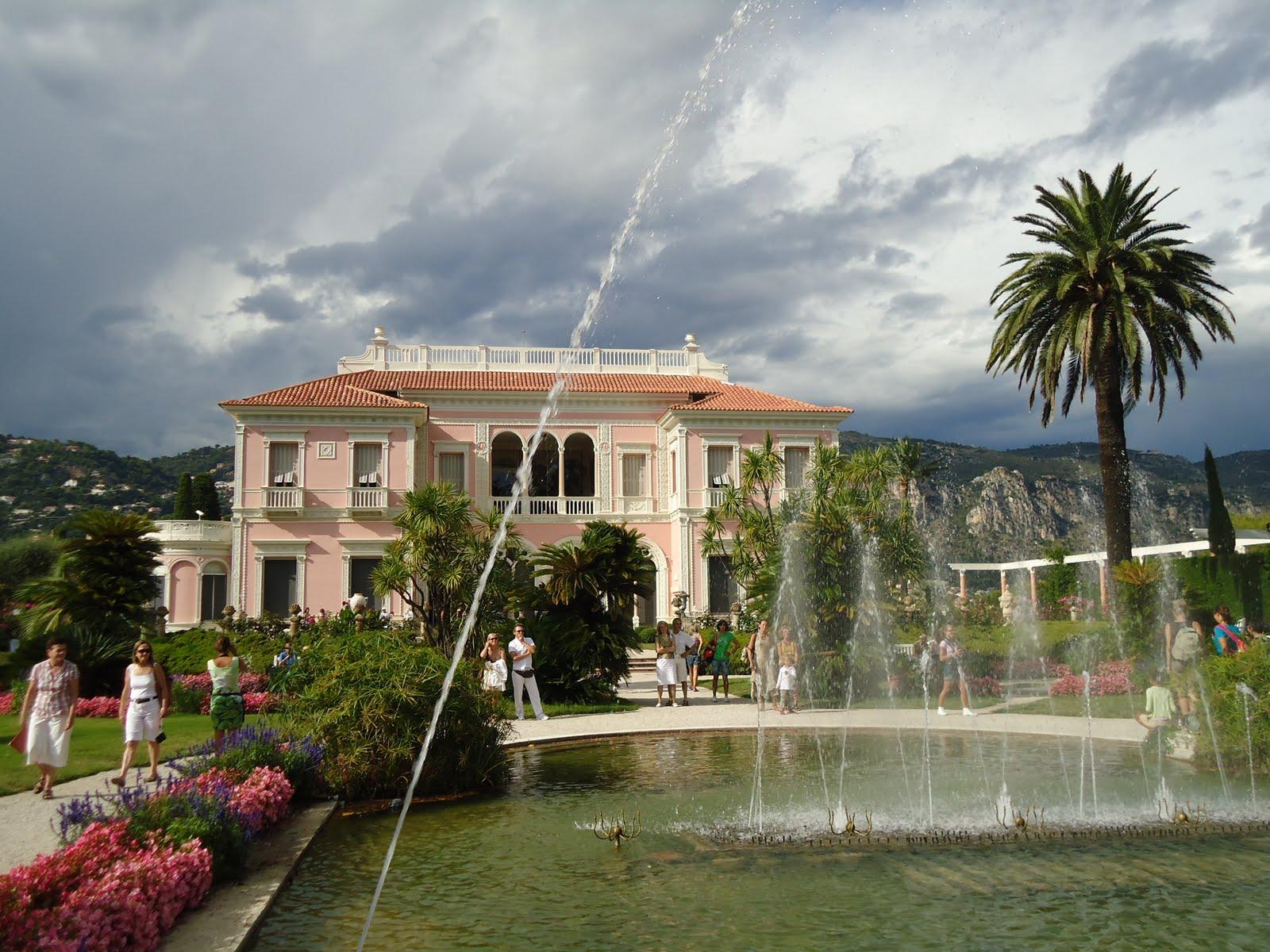 Villa ephrussi de rothschild saint jean cap ferrat for Jardin villa rothschild