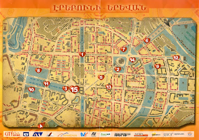 Whatever You Are Be A Good One Yerevan Is Years Old My - yerevan map