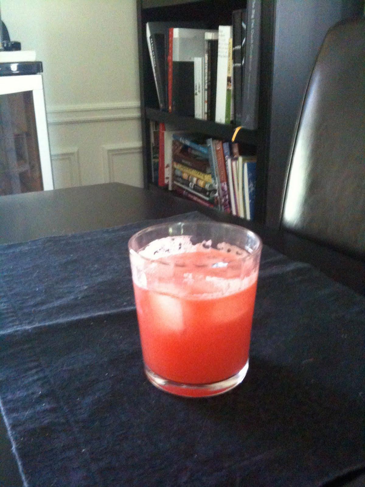 The Good Life: Watermelon Ginger Agua Fresca, Amber Twist