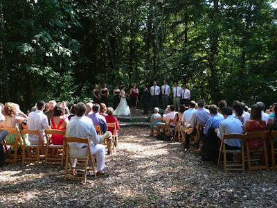 This Is The Main Wedding Location There A Natural Stage For Ceremony With Large Rock Steps When We Were Construction Was About To Start On