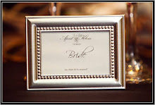Framed Place Card