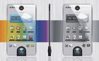 Smartphone Concept Hybrid Screen AMOLED & Electronic Ink img