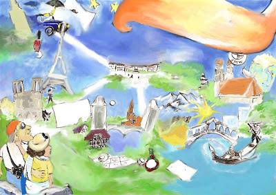Europareise (nur gemalt von) von kay treysse