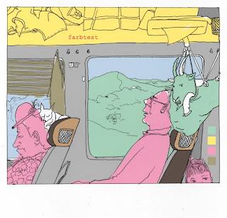 Zugfahrt yk farbtest