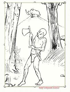 Skizze Tapferer Logora