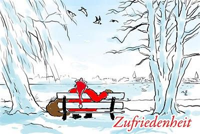 Alster Weihnachtskarte