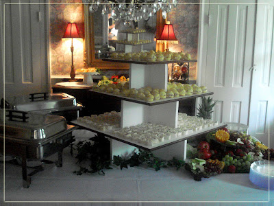 Another Catered Wedding…take a peek!