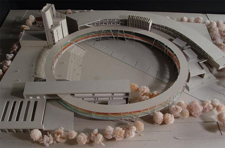 藝術高中建築外觀得標後第三次全面修改定形俯視圖~