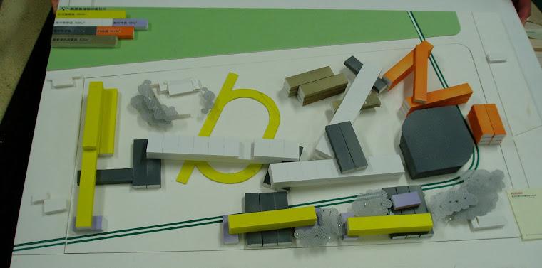 藝術高中校園整體規劃其他未得標之建築師參與投標之校園建築外觀俯視圖~1