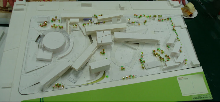 藝術高中校園整體規劃其他未得標之建築師參與投標之校園建築外觀俯視圖~3