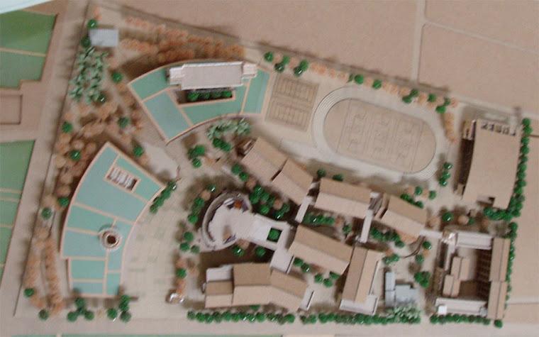 藝術高中校園整體規劃其他未得標之建築師參與投標之校園建築外觀俯視圖~7
