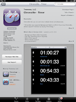 iPad Chronolite app Chronology